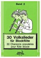 30 Volkslieder Band 2