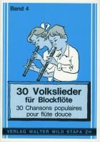 30 Volkslieder Band 4