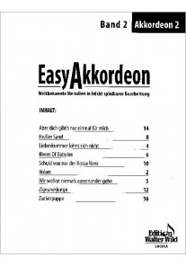 Easy Akkordeon 2 2. Stimme