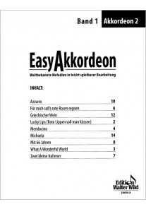 Easy Akkordeon 1 2. Stimme