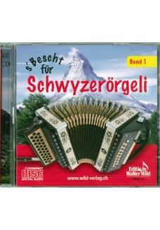 s'  Bescht für Schwyzerörgeli, Band 1